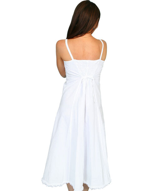 Scully Women's Peruvian Cotton Dress, White, hi-res
