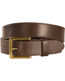Chippewa Men's Brown Sycamore Leather Belt , , hi-res