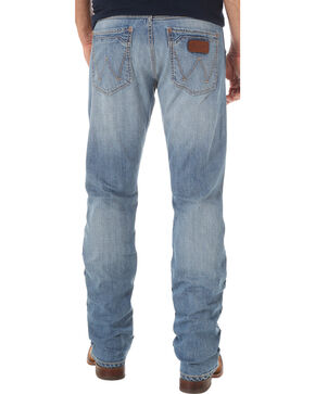 Wrangler Retro Men's Slim Fit Straight Leg Jeans - Big and Tall, Indigo, hi-res