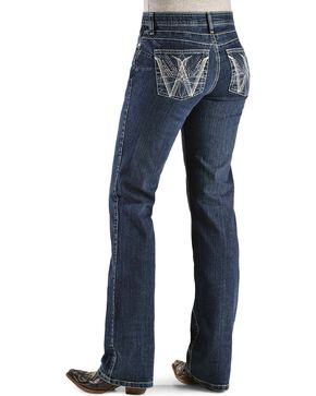 Wrangler Women's Q-Baby Booty Up Tech Jeans, Denim, hi-res