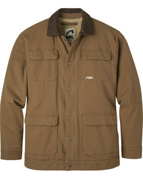 Mountain Khakis Men's Ranch Shearling Jacket, Brown, hi-res