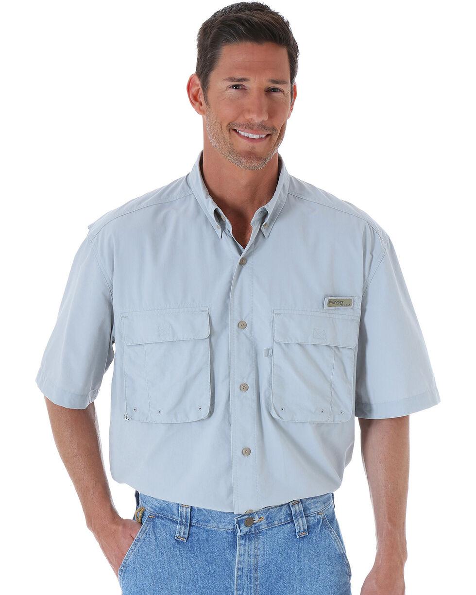 Wrangler Men's ProGear® Angler Shirt , Grey, hi-res