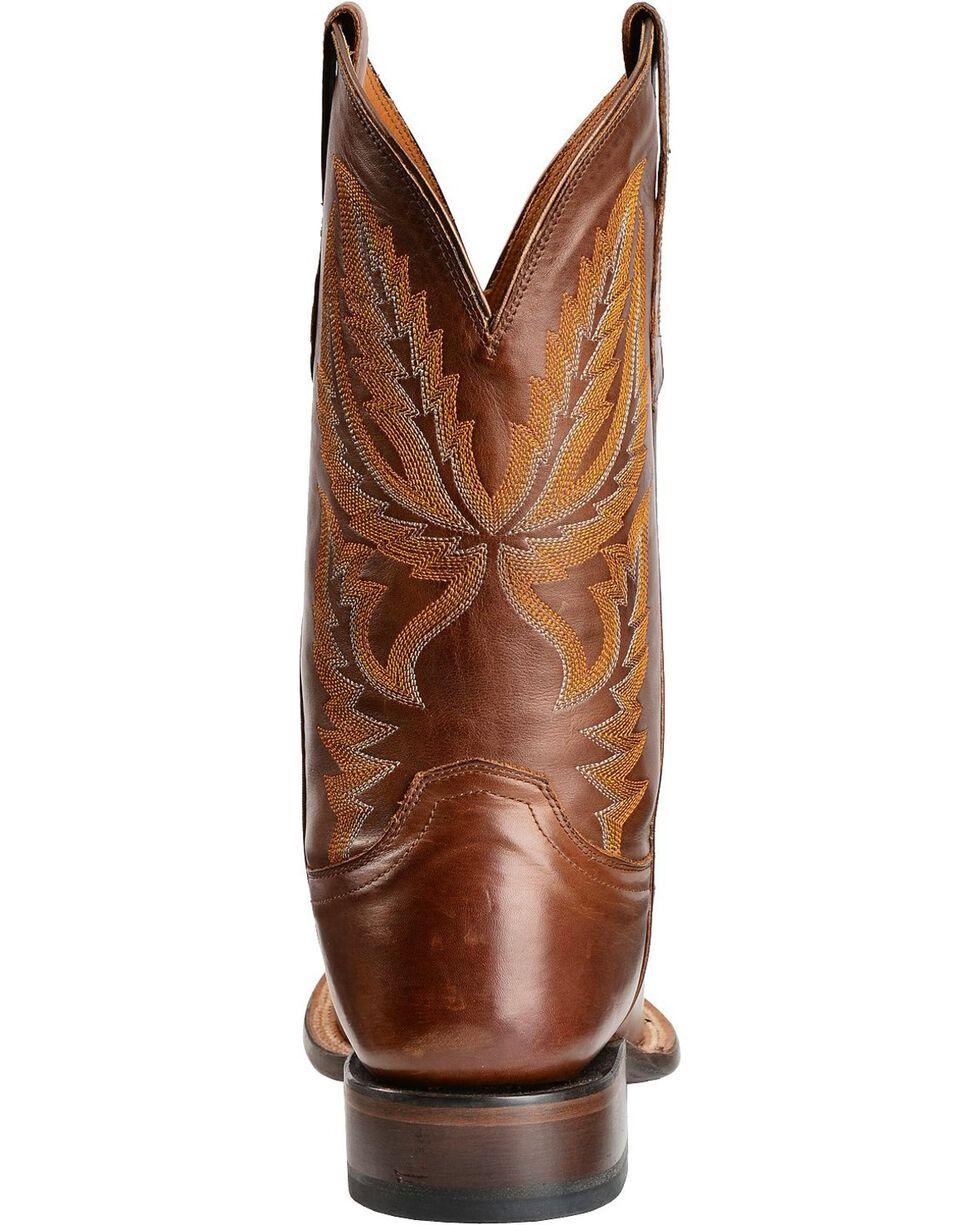 Lucchese Men's Rhett Broad Square Toe Western Boots, Tan, hi-res