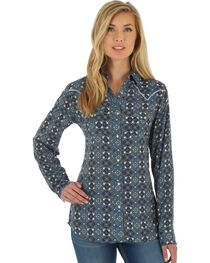 Wrangler Women's Multi Western Fashion Top , , hi-res