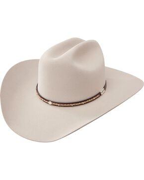 Resistol George Strait 6X Reata Fur Felt Cowboy Hat, Silverbelly, hi-res