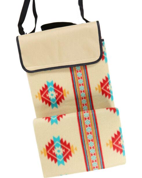 BB Ranch® Southwest Print Festival Blanket , No Color, hi-res