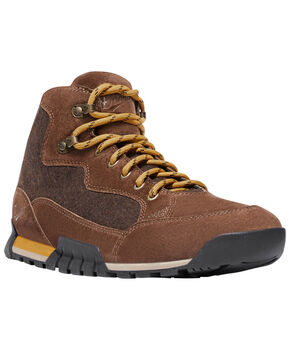 Danner Men's Brown Skyridge Waterproof Wool Shoes , Brown, hi-res