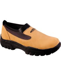 Roper Performance Slip-On Shoes - Round Toe, , hi-res