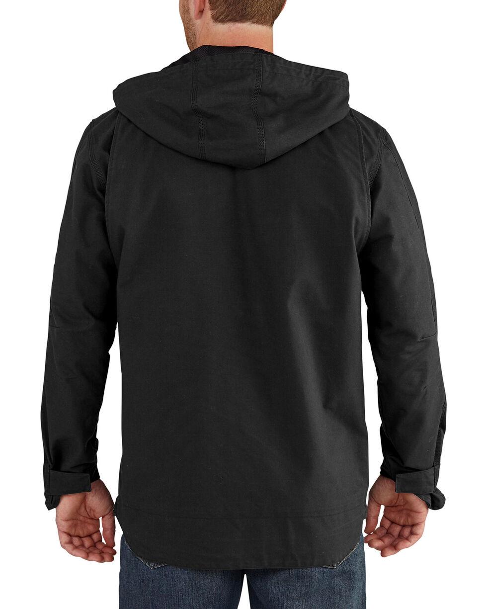 Carhartt Men's Quick Duck 3-in-1 Rockwall Jacket - Tall , Black, hi-res