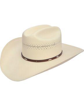 Stetson Men's Deming 10X Shantung Panama Cowboy Hat, Natural, hi-res