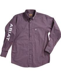 Ariat Men's Anniston Print Casual Classic Logo Shirt, , hi-res