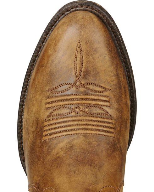 Ariat Men's Cut Loose Western Boots, Brown, hi-res
