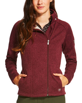 Ariat Women's Regency Full Zip Jacket, Purple, hi-res