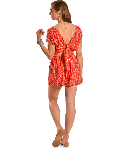 Others Follow Salty Skies Romper, Poppy, hi-res
