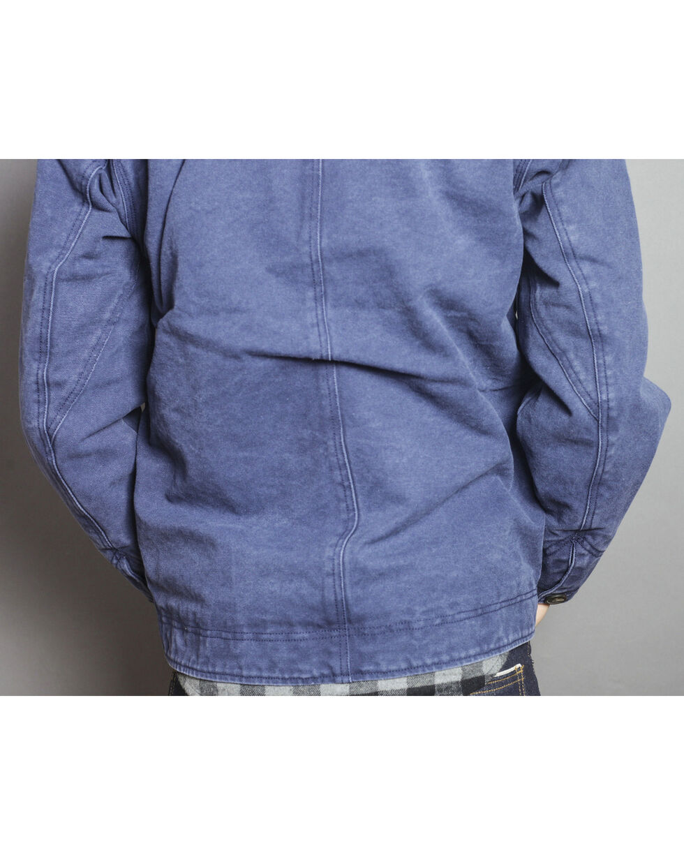 Kimes Ranch Men's Muleskinner Canvas Jacket , Blue, hi-res