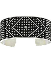 Montana Silversmiths CrossCut Bead & Chevron Cuff Bracelet, , hi-res