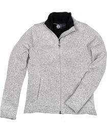 Key Women's Oatmeal Sweater Knit Jacket, , hi-res