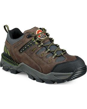 Red Wing Irish Setter Two Harbors Hiker Work Boots - Aluminum Toe , Grey, hi-res