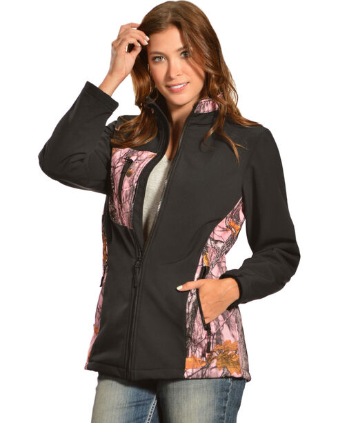 Red Ranch Women's Bonded Pink Camo Jacket , , hi-res