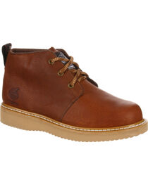 Georgia Men's Farm & Ranch Chukka Work Boots, , hi-res