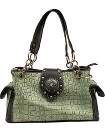 Blazin' Roxx Women's Gator Embossed Handbag, , hi-res