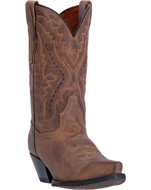 Dan Post Trinity Cowgirl Boots - Snip Toe , Sand, hi-res