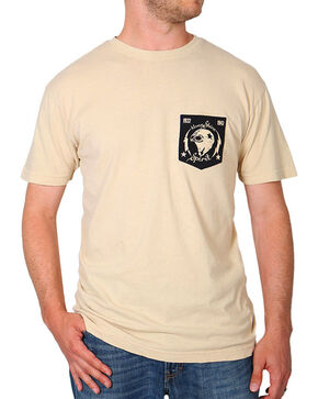Moonshine Spirit® Men's Moto Head Tee, Sand, hi-res