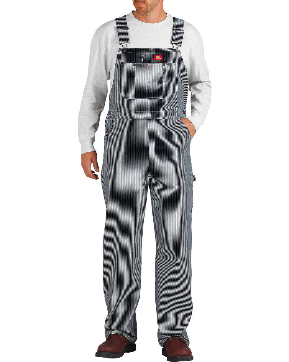 Dickies ® Hickory Stripe Overalls, Denim, hi-res