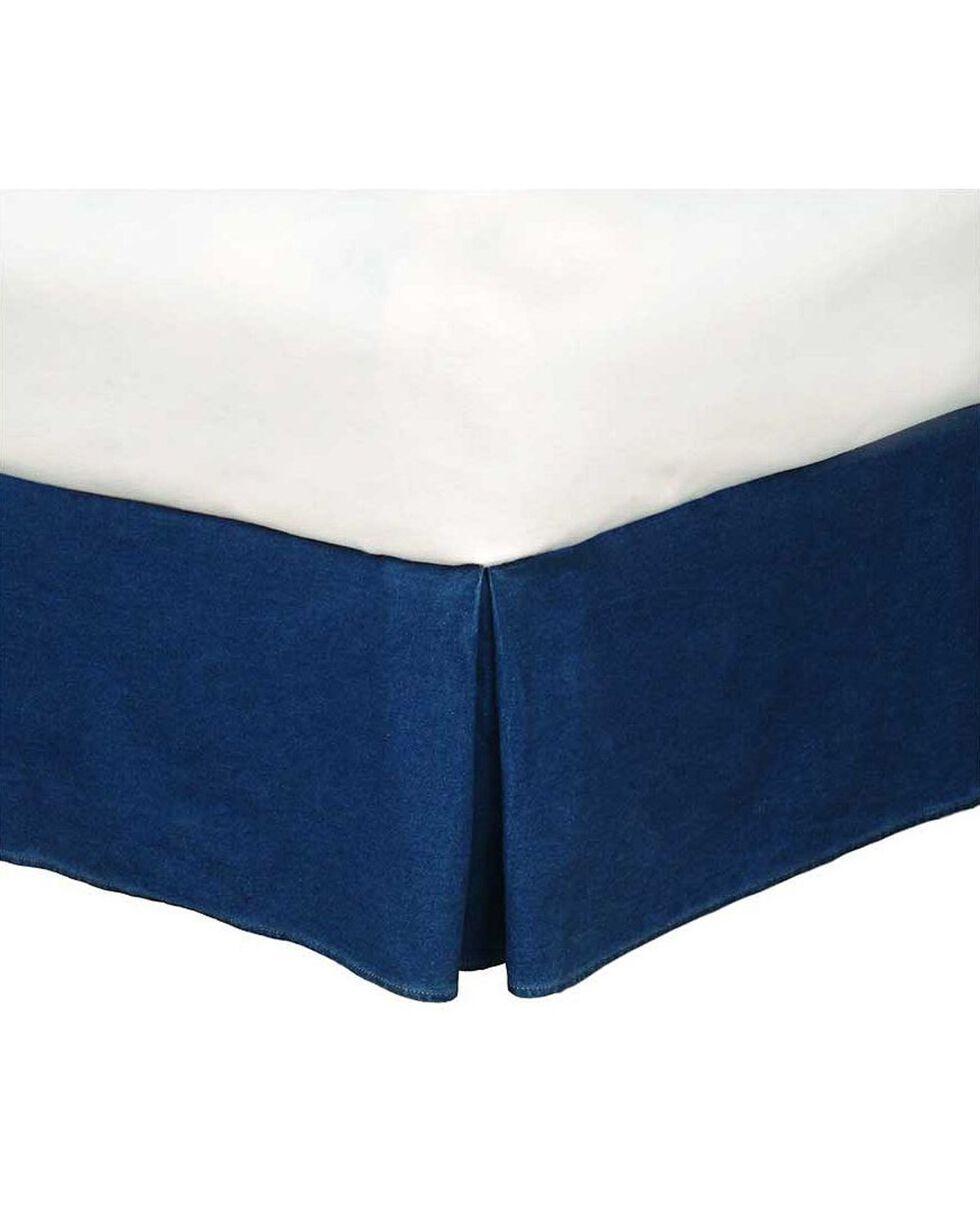 Karin Maki Denim Full Size Bedskirt, Denim, hi-res