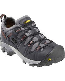 Keen Men's Detroit Low Steel Toe Shoes, , hi-res
