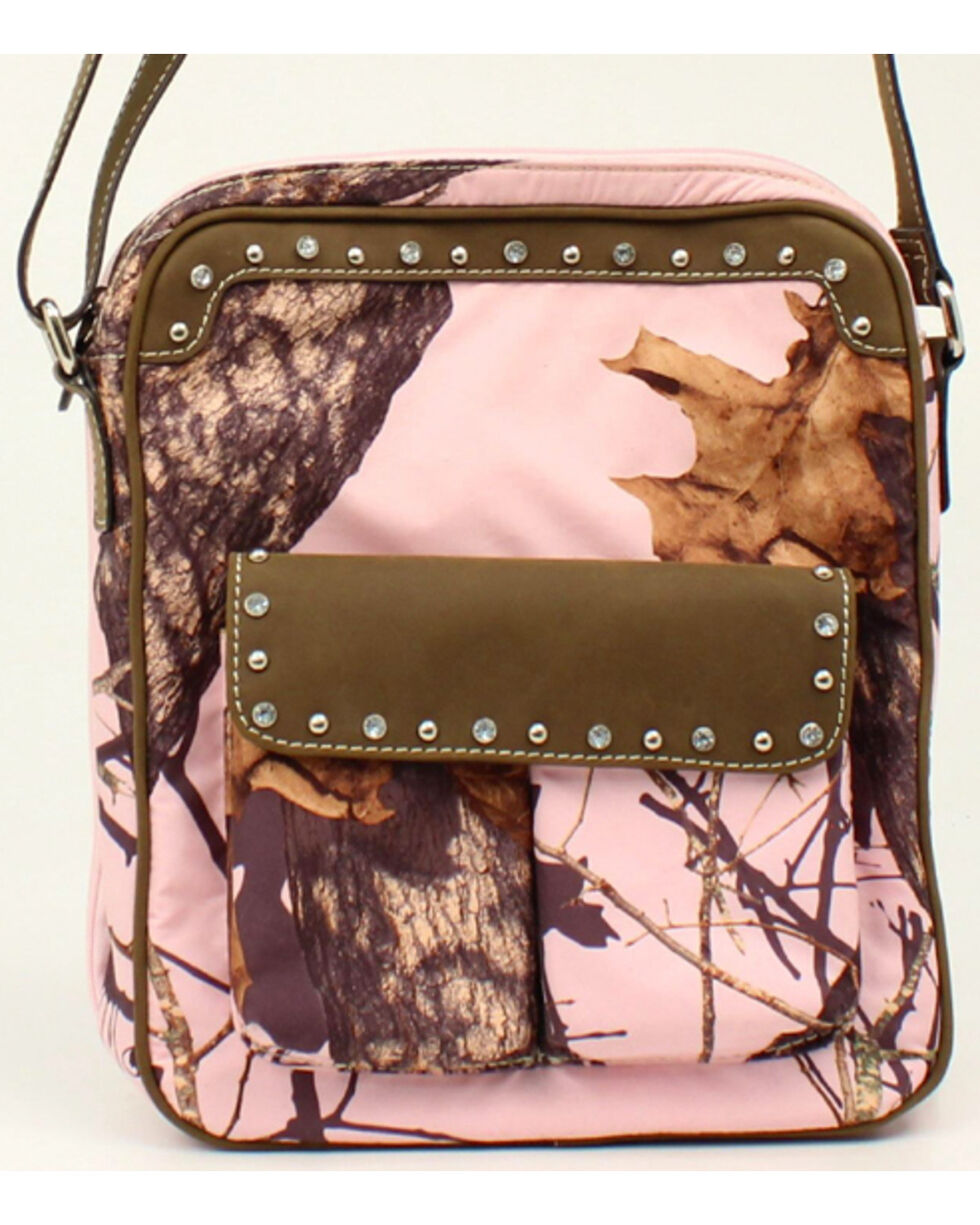Blazin Roxx Camo Concealed Carry Crossbody Bag, , hi-res