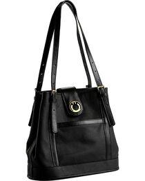 Designer Concealed Carry Black Palisade Tote Bag, , hi-res