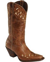 Durango Women's Sew Sassy Western Boots, , hi-res