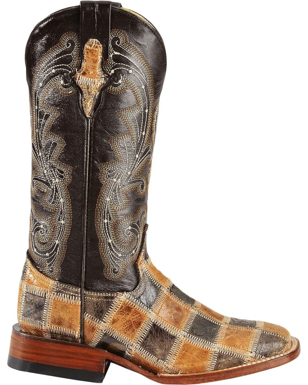 Ferrini Women's Patchwork Western Boots, , hi-res