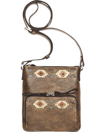 American West Women's Native Sun Crossbody Bag/Wallet, , hi-res