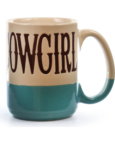 BB Ranch® Cowgirl Mug, Turquoise, hi-res