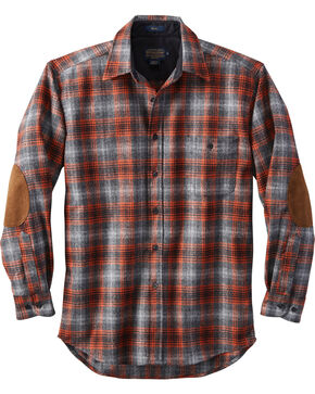 Pendleton Men's Grey Harley Plaid Trail Shirt , Grey, hi-res