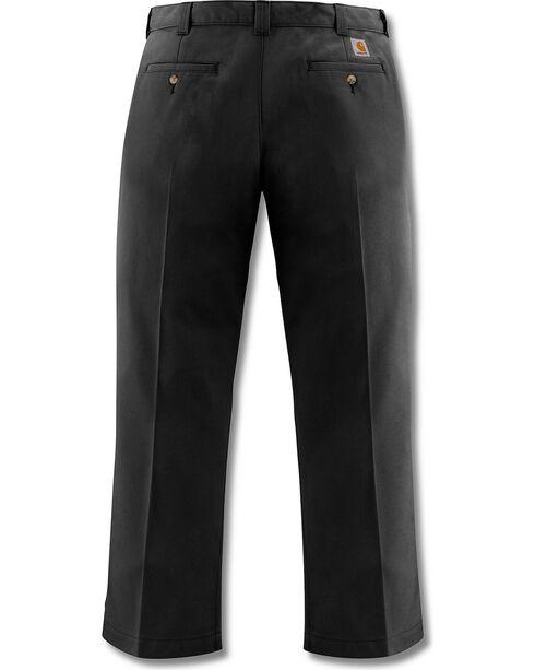 Carhartt Men's Twill Work Pants, Black, hi-res