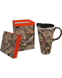 Evergreen Camo Mug and Lid, , hi-res