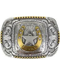 Cody James® Men's Horseshoe Texas Belt Buckle, , hi-res