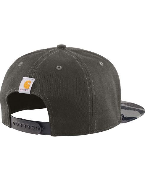 Carhartt Men's Camo Contrast Ball Cap, Grey, hi-res
