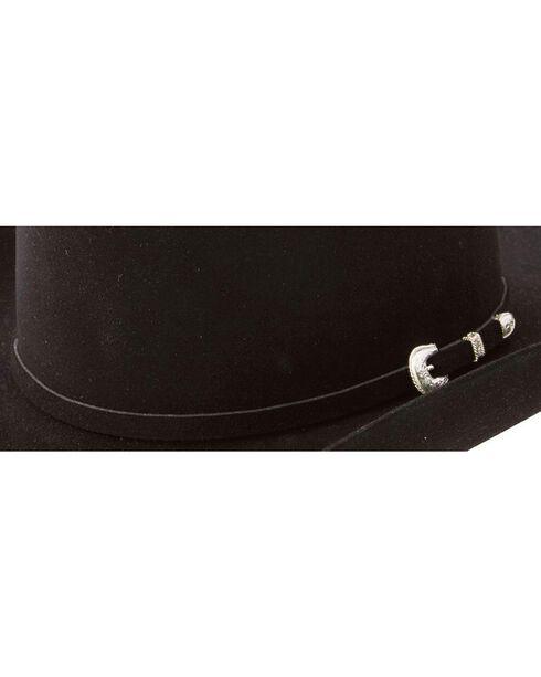 Resistol 7X Fur Felt Hat, Black, hi-res