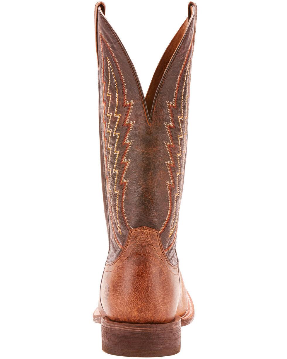 Ariat Men's Circuit Stride Weathered Tan Cowboy Boots - Square Toe, Tan, hi-res