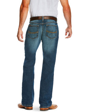 Ariat Men's Blue M4 Kilroy Jeans -  Boot Cut , Blue, hi-res