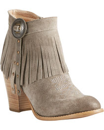 Ariat Women's Unbridled Avery Suede Boots - Round Toe, , hi-res