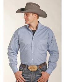 Tuf Cooper Performance Men's Dotted Pattern Long Sleeve Shirt , , hi-res