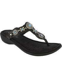 Minnetonka Women's Boca Thong III Sandals, , hi-res