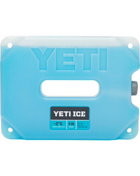 YETI Four-Pound Ice Pack, Blue, hi-res