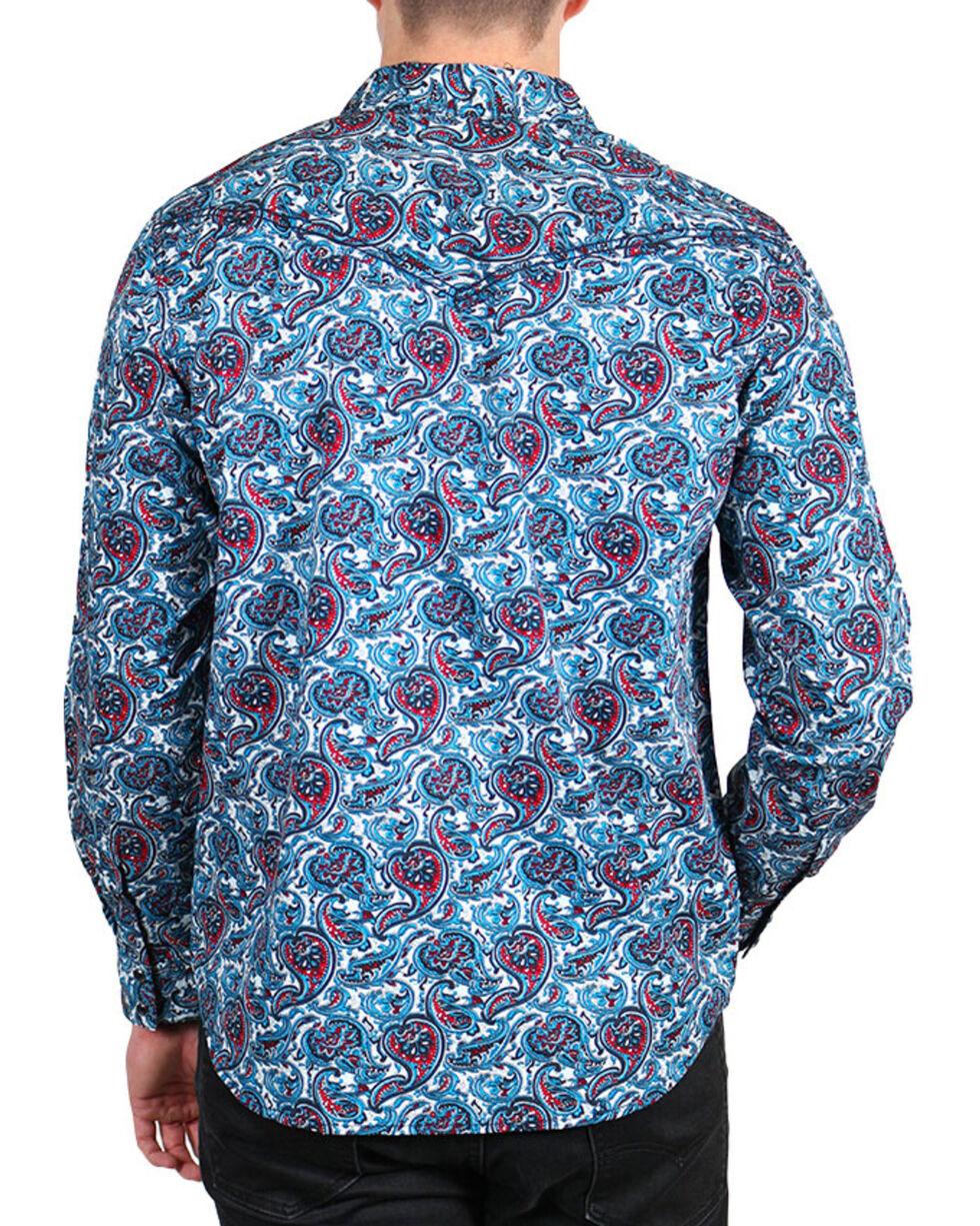 Cody James Men's Paisley Printed Long Sleeve Shirt - Big & Tall, , hi-res
