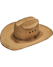 Ariat Men's Dark Brown Fired Palm Hat, , hi-res